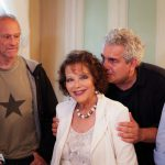 Claudia Cardinale con il Produttore Paolo Rossi